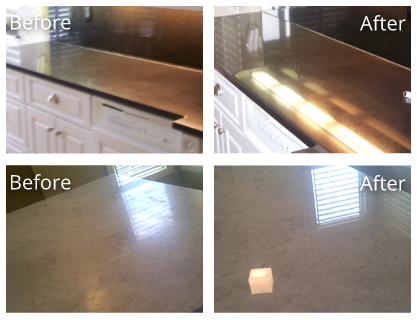 Granite Before and After